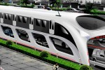 Mega-Straddle Bus Conceptualized for China, Fits 1,200 Passengers
