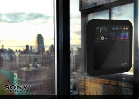 Sony Eclipse Concept Design Offers Solar Powered Wireless Media Management
