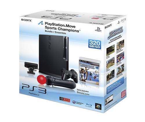 Sony PlayStation 3 Slim 160GB Model, 320GB Move Bundle Releasing This Fall