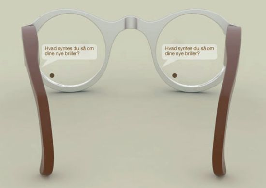 Babel Fisk Speech to Text Glasses Will Show the Deaf What Someone Says in Real Time