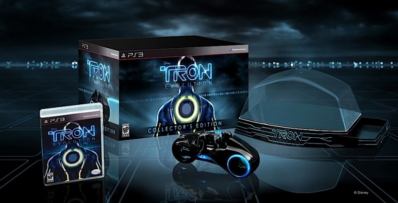 TRON: Evolution Collector's Edition Announced, Has Toy Light Cycle Inside