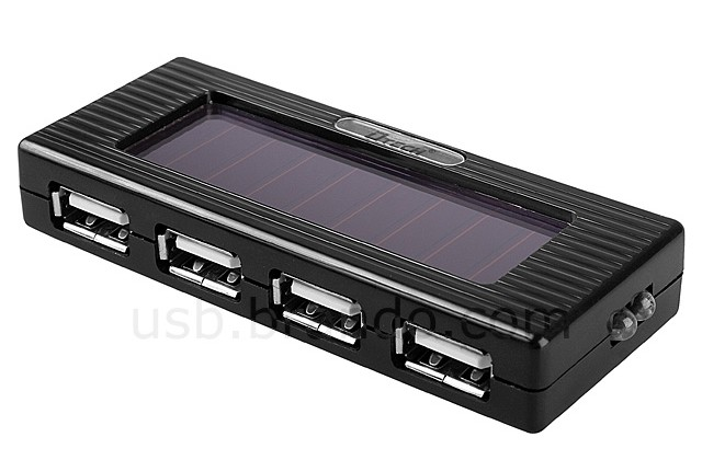 USB Solar Charging 4-Port Hub with Flashlight Now Available for $22
