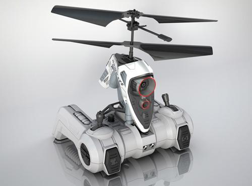 Air Hogs Hawk Eye R/C chopper takes your webcam airborne