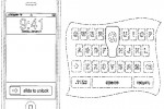 Apple patent pop-up keyboard letters & slide-to-unlock bar