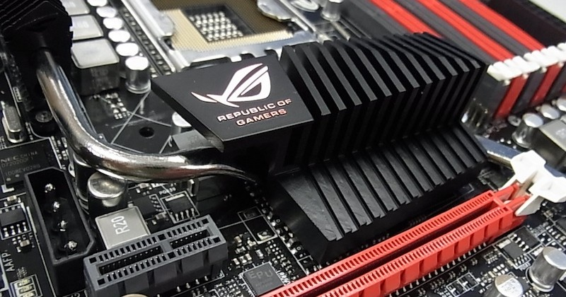 ASUS Rampage III Formula high-end motherboard breaks cover