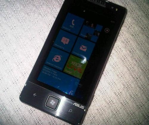 ASUS Windows Phone 7 smartphone leaks