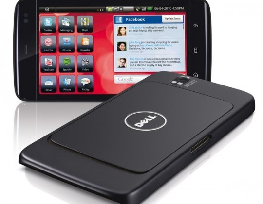 AT&T Dell Streak on sale now (including HDMI & car docks)