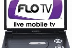 Audiovox portable DVD player with integrated FLO TV launches