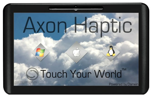 Axon Logic Haptic tablet is real and can run OS X