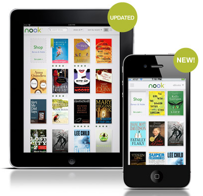 Barnes & Noble NOOK for iPhone launched