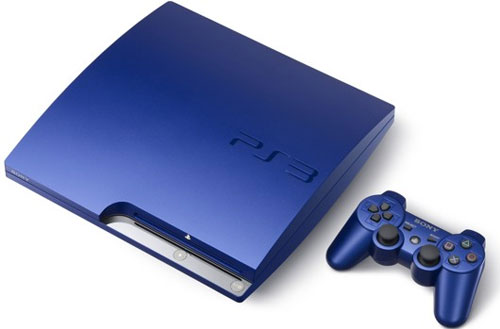 Japan to get blue PS3 in November along with Gran Turismo 5