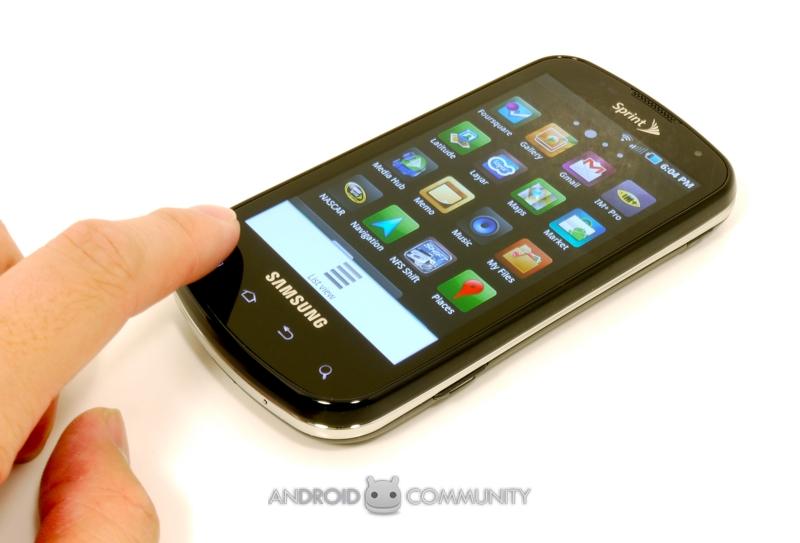 Sprint Epic 4G Review - SlashGear