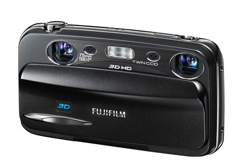 Fujifilm W3 3D camera gets official in UK