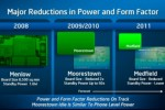 Intel: We'll beat ARM on active power efficiency with Medfield