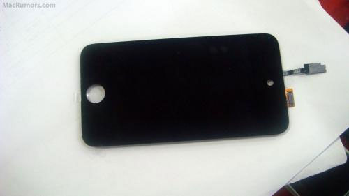 Supposed images of iPod touch 4 screen leak
