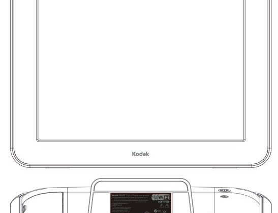 Kodak Pulse W1030 WiFi digital photo frame clears FCC