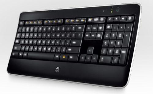 Logitech unveils Wireless Illuminated Keyboard K800