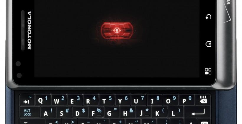 Motorola DROID 2 arrives on virtual shelves