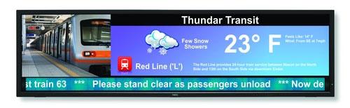 NEC Display solutions unveils X Series X431BT display