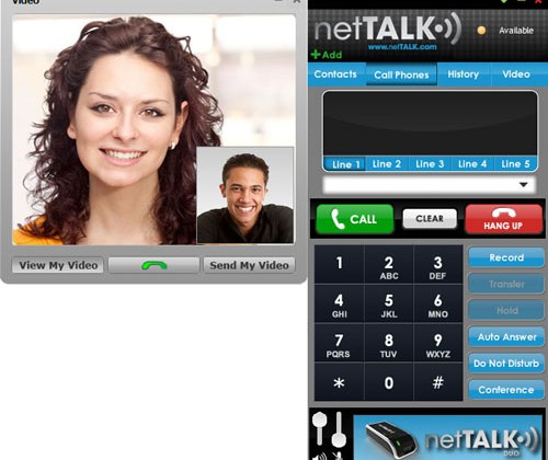 netTalk offers free video calling app to Duo and TK6000
