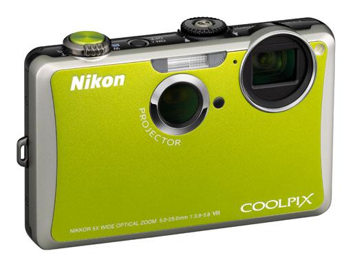 Nikon Coolpix S1100pj projector camera unveiled