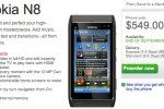 Nokia N8 US preorders start: $549 for end of September