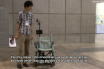Robotic Wheelchair Uses Distance Sensor to Follow People