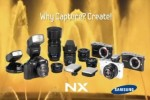 Samsung NX100 micro-four-thirds camera spotted?