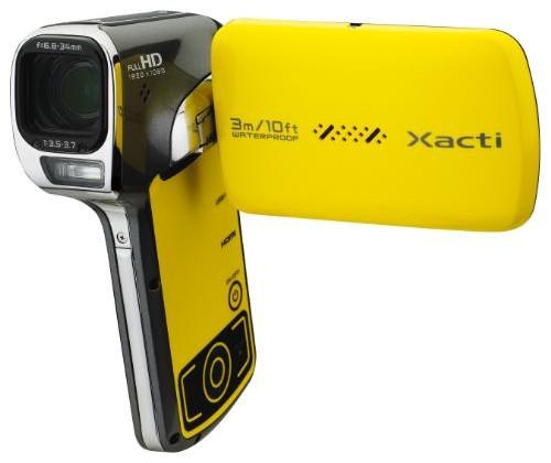 Sanyo Xacti VPC-CA102YL shoots high-def underwater