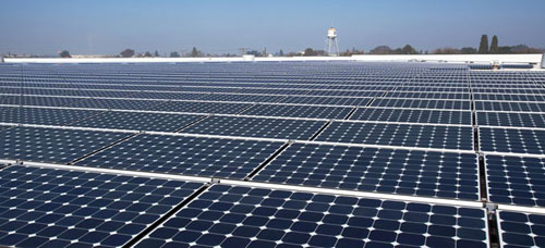US Air Force base in Arizona is going green