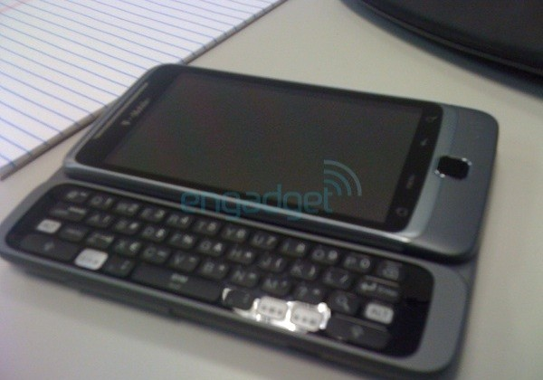 T-Mobile's HSPA+ G2 leaks, confirmed as HTC Vision [Updated]