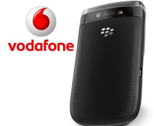 BlackBerry Torch Vodafone UK launch confirmed