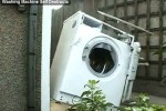Washing machine dies miserably washing a brick