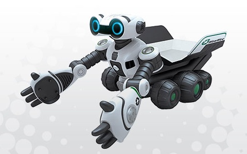 WowWee Roboscooper channels Wall-E