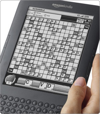 Amazon Kindle Gets Scrabble as First Third-Party Paid App