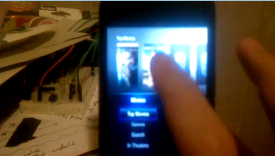 Apple TV's Lowtide Software Running on an iPod Touch With iOS 4.1 [Video]