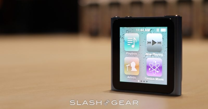 iPod nano 6th-gen hands-on