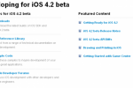 iOS 4.2 Beta Now Available to Download for Developers