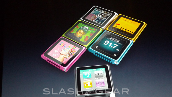 Apple iPod Nano Refreshed, Offers 24 Hour Battery and Nike+