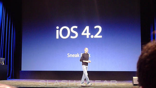Apple iOS 4.2 Announced and Shown Off, Coming Later This Year to iPad