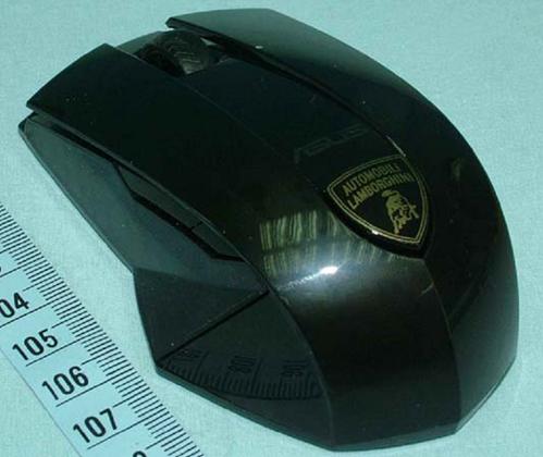 Asus WX-Lamborghini Wireless Mouse Passes Through FCC