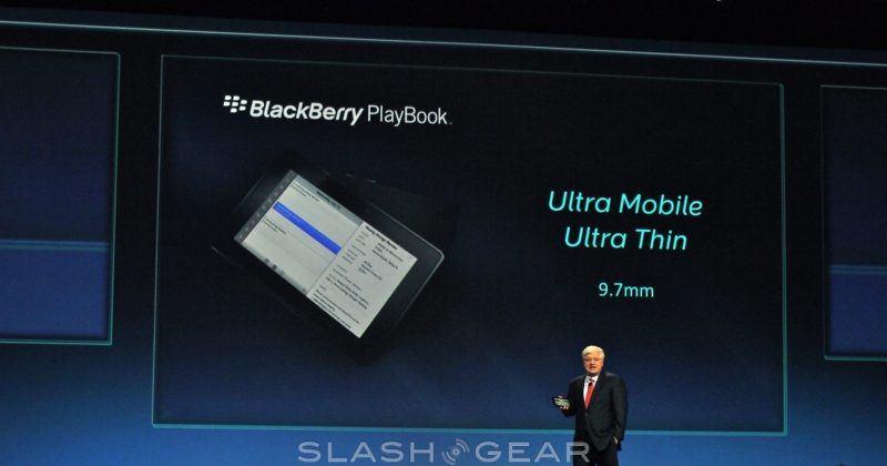 "BlackBerry PlayBook official: 7-Inch 1GHz ""Professional"" tablet"