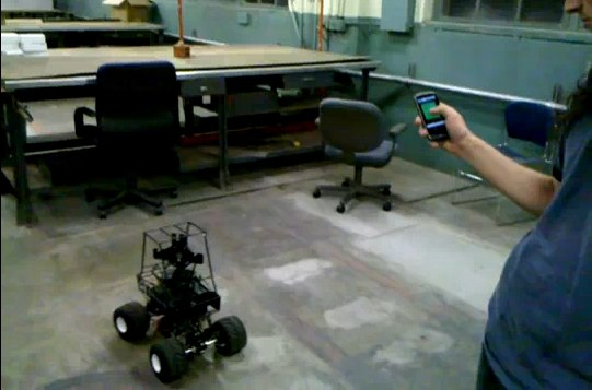NASA Droidrover project uses Android remote control [Video]