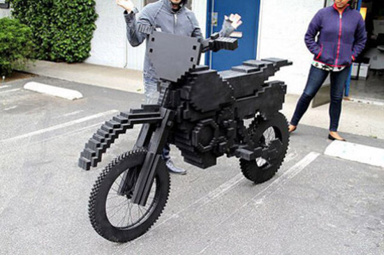 Excitebike is Real, Life-Size and Made From Legos