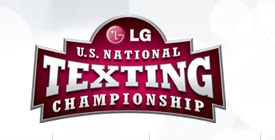LG US National Texting Championship Won by Teenage Girl, Receives $50,000