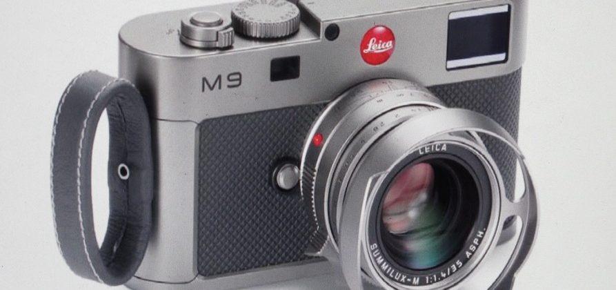 Leica M9 Titanium Limited Edition Unveiled
