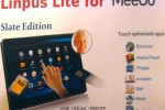 Linpus Lite Tablet Edition Software Based on MeeGo Due by Fourth Quarter 2010