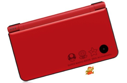 Nintendo Super Mario Bros. 25th Anniversary DSi LL Edition System Unveiled