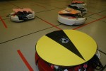 Roombas Used to Reenact Pac-Man