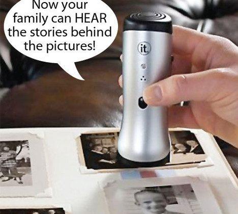 Photo Album Storyteller Voice Recorder Enhances Your Physical Photos